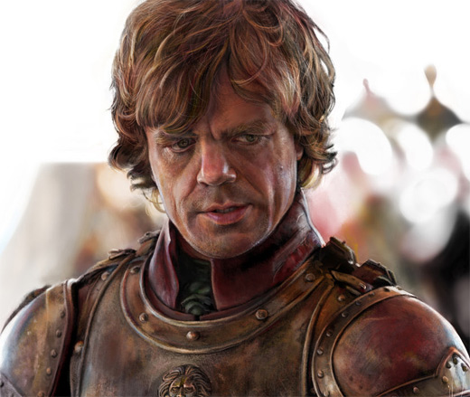 Realistic peter dinklage game of thrones illustration artworks