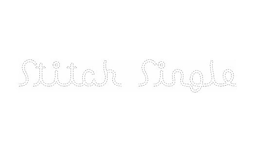 Single line stitch fonts free download