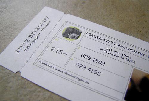 Steve Belkowitz business card