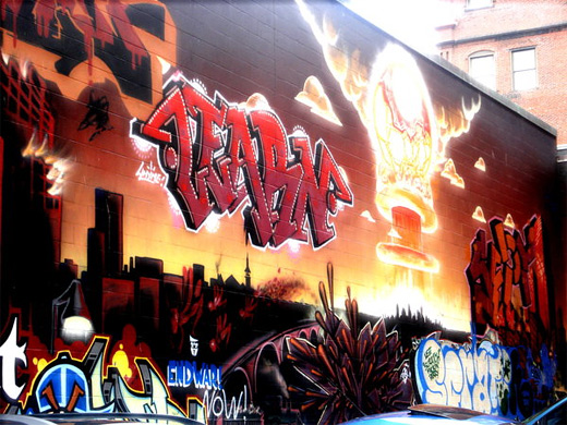 Awesome graffiti artworks collection