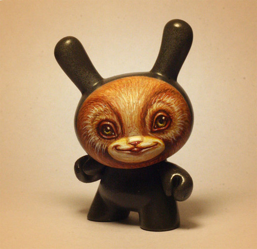 Bear cute dunny vinyl toys design