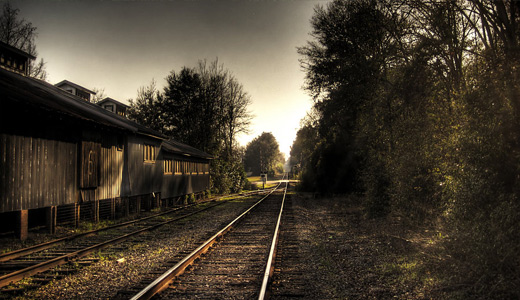 Town railroad free download wallpapers