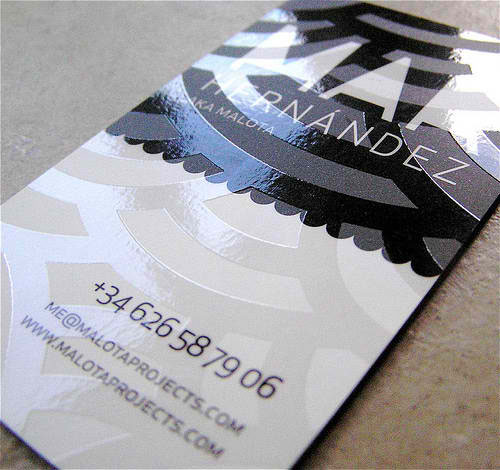 Malota Projects Business Card