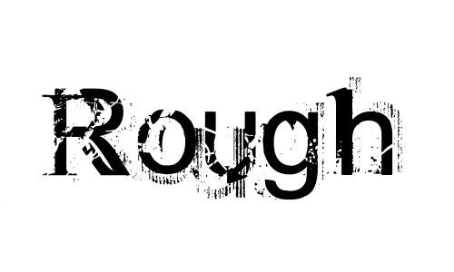 Rough Linen font