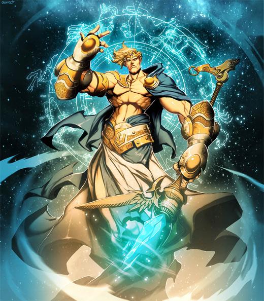 Uranus world of warcraft illustration artworks