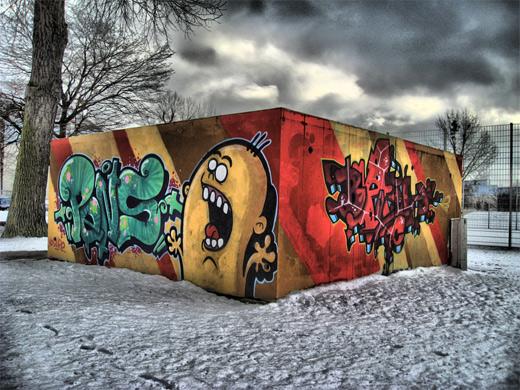 Cute graffiti artworks collection