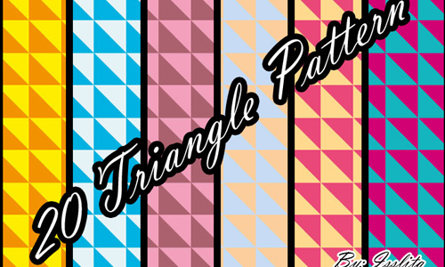 20 Triangle Patterns