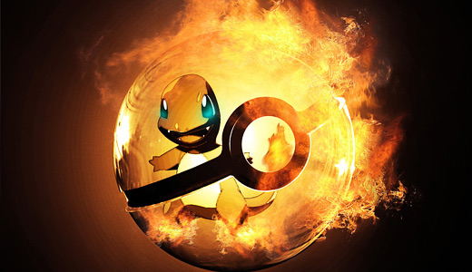 Fire charmander flame pokeball designs wallpapers free download