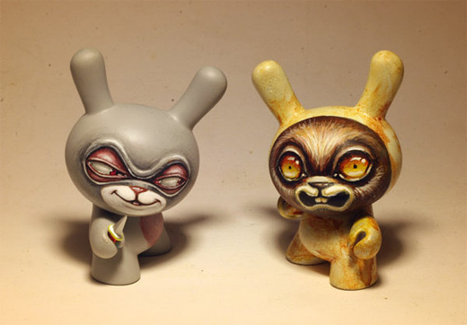 Scary dunny vinyl toys design