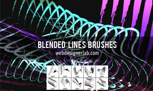 Blended Lines Brushes
