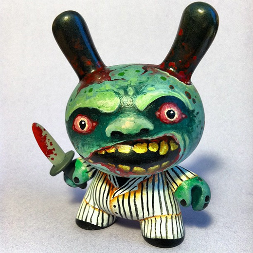 Green killer dunny vinyl toys design