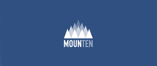 Many cool mountain logo design collection