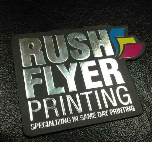 Silver Foil Business Cards