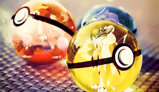 Legendary pokeball designs wallpapers free download