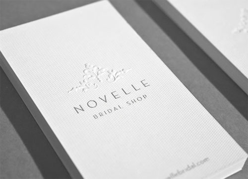 Novelle business card