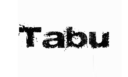 tabu font
