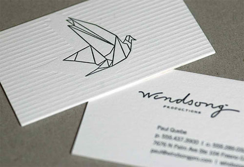 Windsong business card
