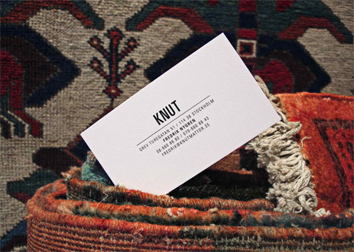 Knut business card