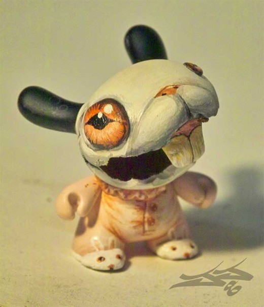 Bunny dunny vinyl toys design