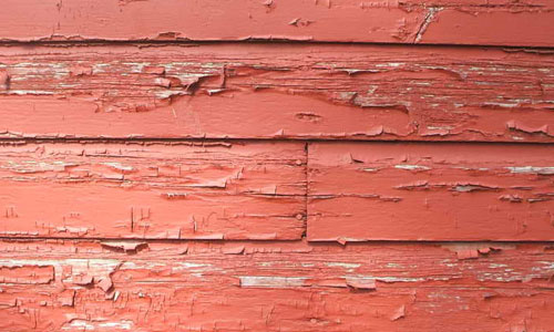 Weathered paint texture