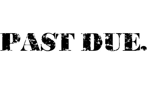 Past Due font