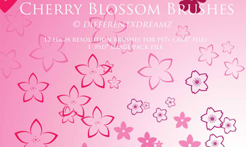 Sakura: Cherry Blossom Brushes