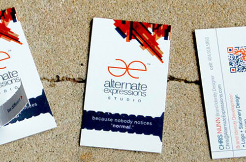 Business Card for: Alternate Expressions
