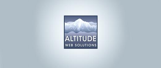 Ice mountain logo design collection