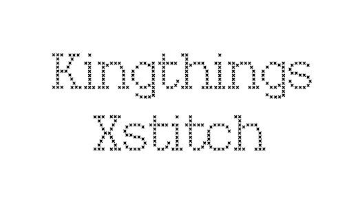 X stitch fonts free download