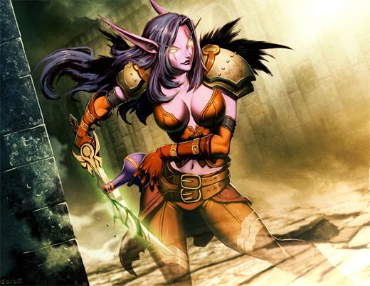Assassin world of warcraft illustration artworks