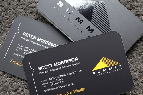 Summit Financial Business Card