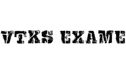 VTKS Exame font