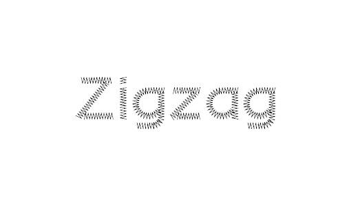 Zigzag stitch fonts free download