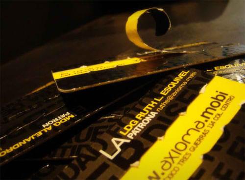 Business Card for: Axioma Estudio