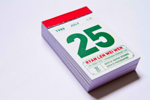 Business Card for: Ryan Len