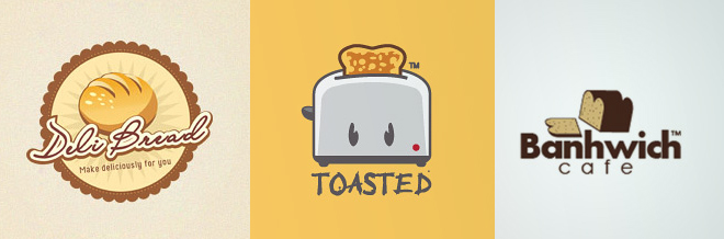 26 Yummy and Creative Examples of Bread Logo Designs
