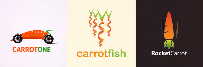 A 26 Crunchy Carrot Logo Designs Collection