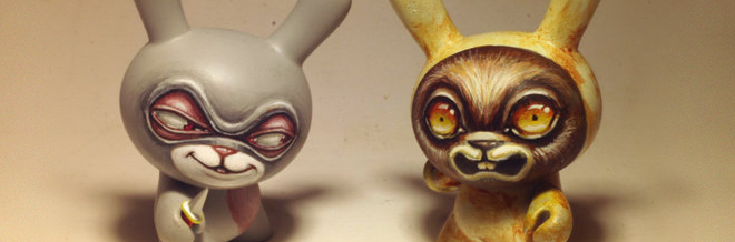 30 Awesome and Amusing Designs of Dunny Toys