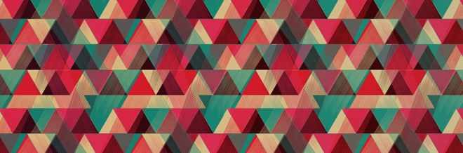 80 Triangle Patterns for Subtle Geometric Touches