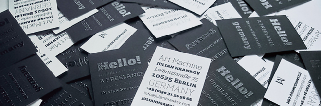 30 Attention-Grabbing Spot UV Business Cards