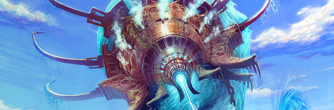 30 Cool and Splashing Examples of Water Colossus Illustrations