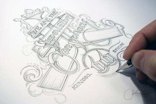 WeSC superlative conspiracy martin schmetzer typography design artworks