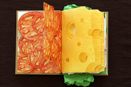 Sandwich Book Cheese