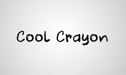 cool chalk fonts free