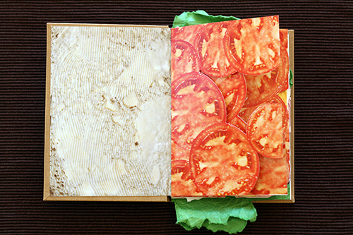 Sandwich Book Tomatoes
