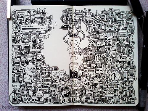 Moleskin Doodles: Recharge