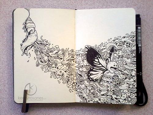 Moleskin Doodles: Reborn