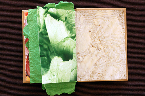 Sandwich Book Inside
