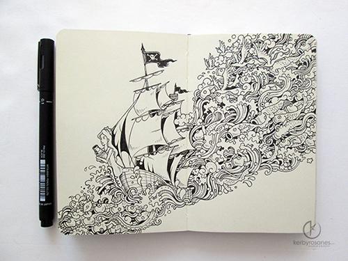 Moleskin Doodles: Journey