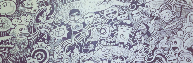 Interview with Kerby Rosanes: Sketchy Stories Behind His Doodles